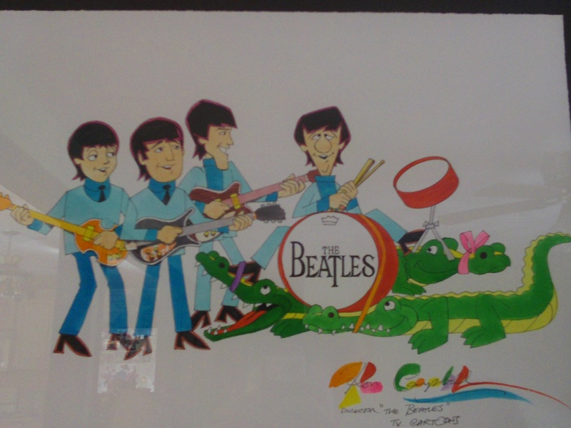 Beatles Artwork by Ron Campbell